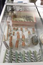 Militaria: WW1 Diorama constructed by wounded Belgium invalids. The town Di
