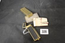 Smoking Requisites: Lighters, Ronson, Cartier, DuPont and Dunhill. All in n
