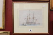 Edward William Cook 1811-1880 watercolour, 1 of 12 original sketches by Coo