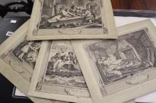 Bath Academy of Art Study Folio - William Hogarth: A folio of autotype prin