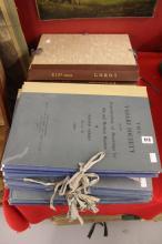 Bath Academy of Art Study Folios: Folios of 19th cent. engravings/facsimile