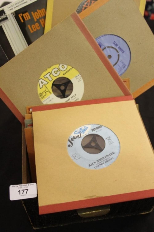Music: 1960s/70s/80s - R&B, Blues, Rock & Roll 45rpm records
