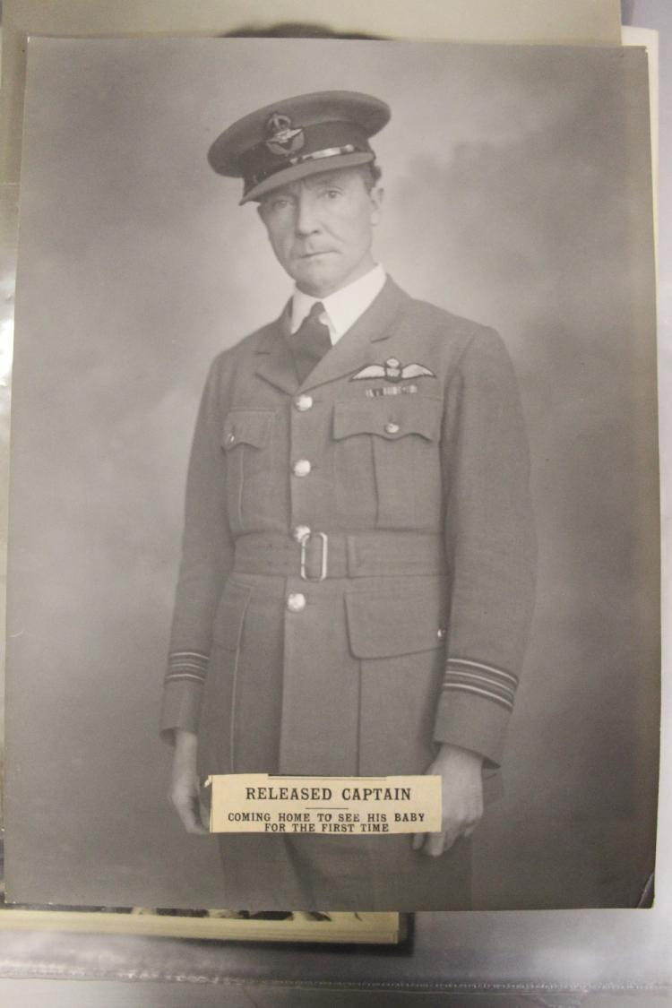 Militaria/RAF/WW2/Enigma/U-Boats: Group Captain Montague Whi