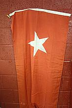 WHITE STAR LINE: Large modern red burgee with White Star to the c