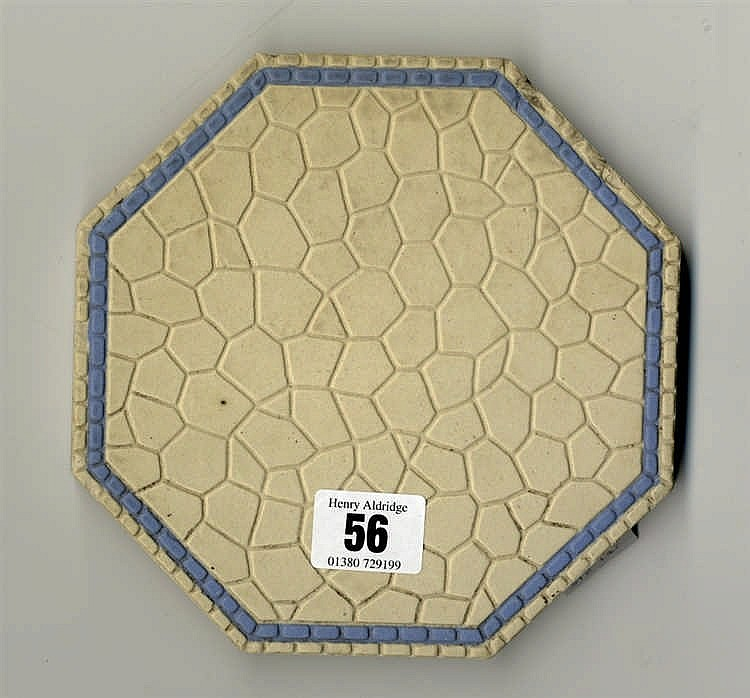 R.M.S. OLYMPIC: Villeroy and Boch octagonal swimming pool tile. 6