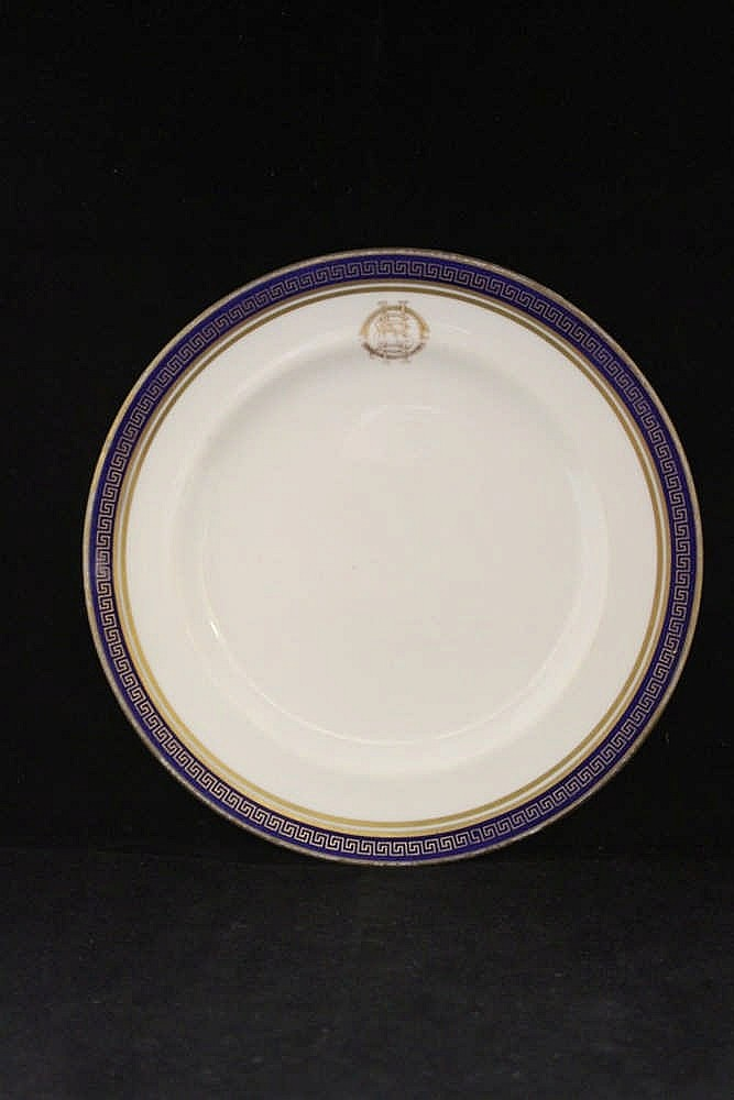 WHITE STAR LINE: Stonier & Co. Spode First Class side plate with