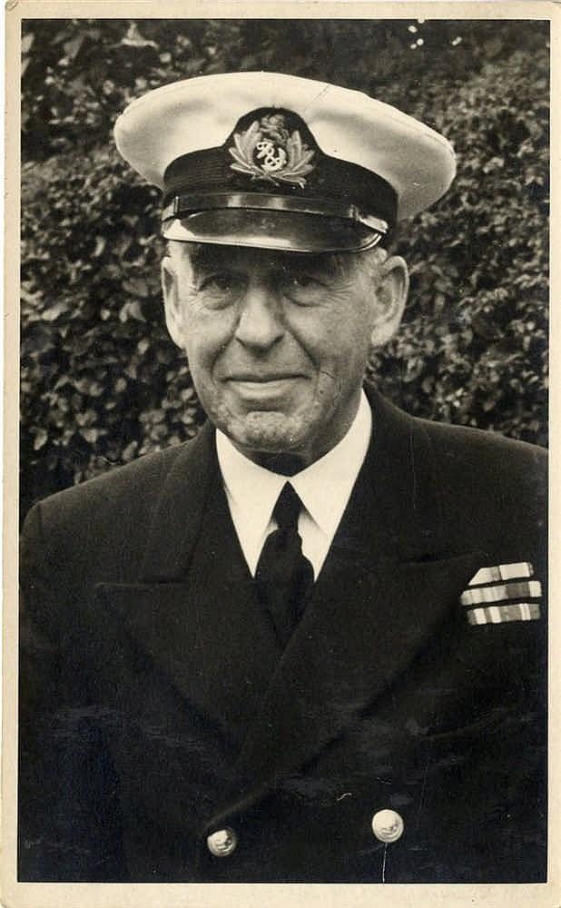 R.M.S. TITANIC: A rare photograph of Albert Charles Thomas, a ste