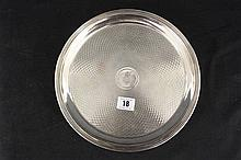 SHIPPING: Royal Mail Steamship and Packet Co. silver plated tray