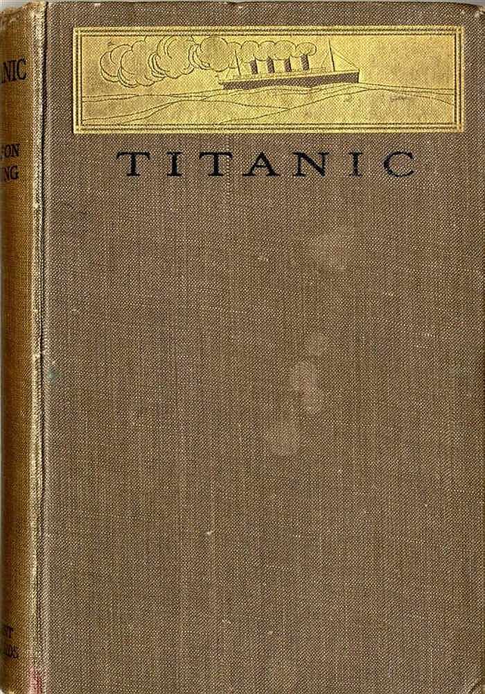 MARITIME BOOKS: Titanic by Filson Young, the rare 1912 first edit