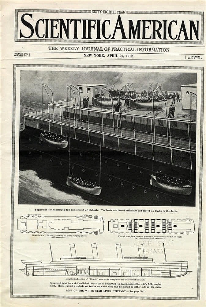 R.M.S. TITANIC/OLYMPIC: Issues of Scientific American November 12
