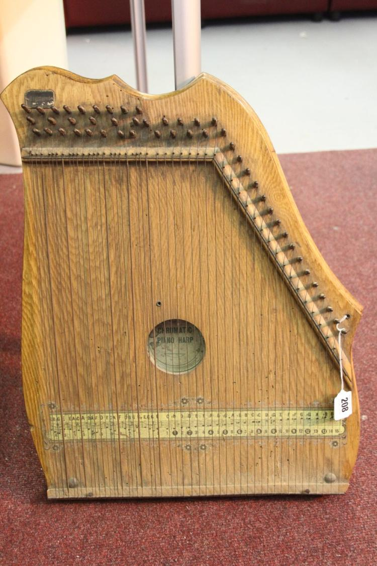 Musical Instruments: A chromatic piano harp by The South Wes