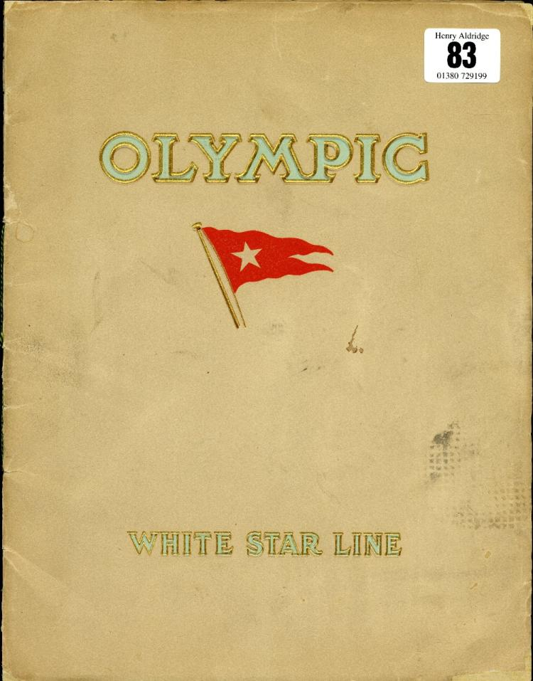 R.M.S OLYMPIC