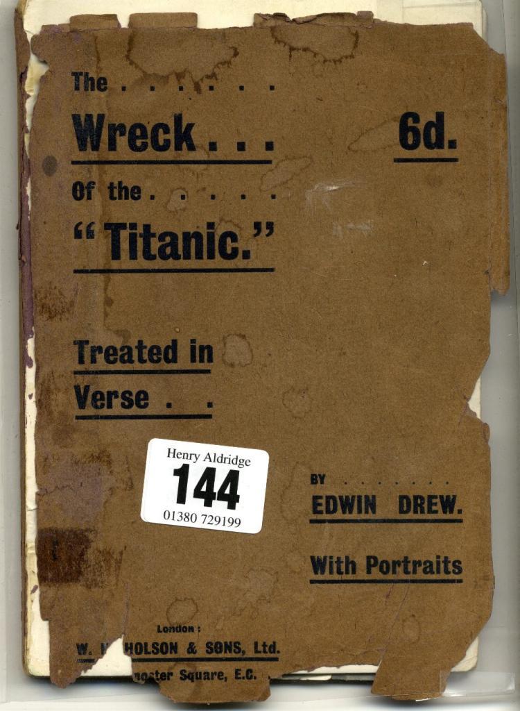 R.M.S. TITANIC/BOOK