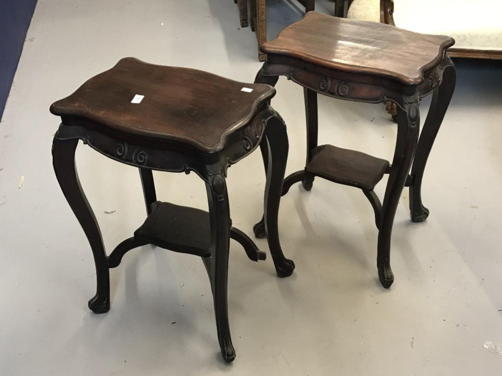 The Thomas E Skidmore Collection: Late 19th early 20th cent. Chinese Haunghauli  wood tables, serpen