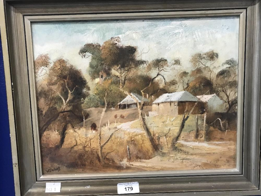 20th cent. Australian School - William Dobell Attributed: Oil on composite board, titled Summer Ligh