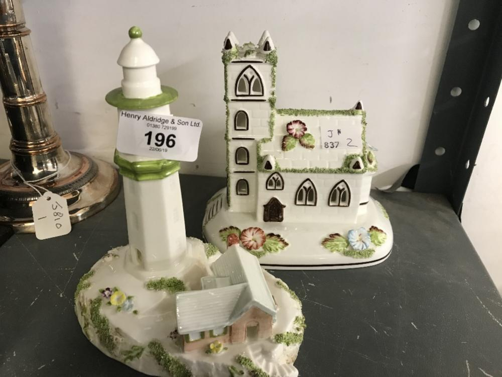 Coalport Houses 'The Lighthouse'  and 'The Village Church'