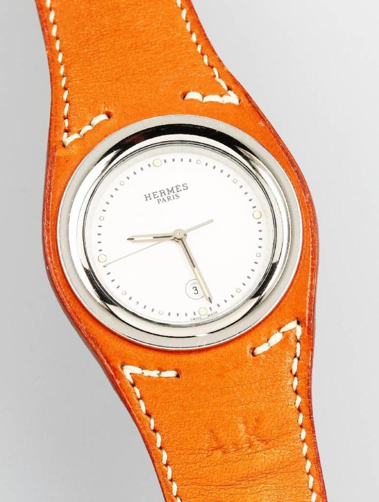 HERMES wristwatch 'Harnais'