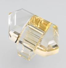 Ring made of citrine