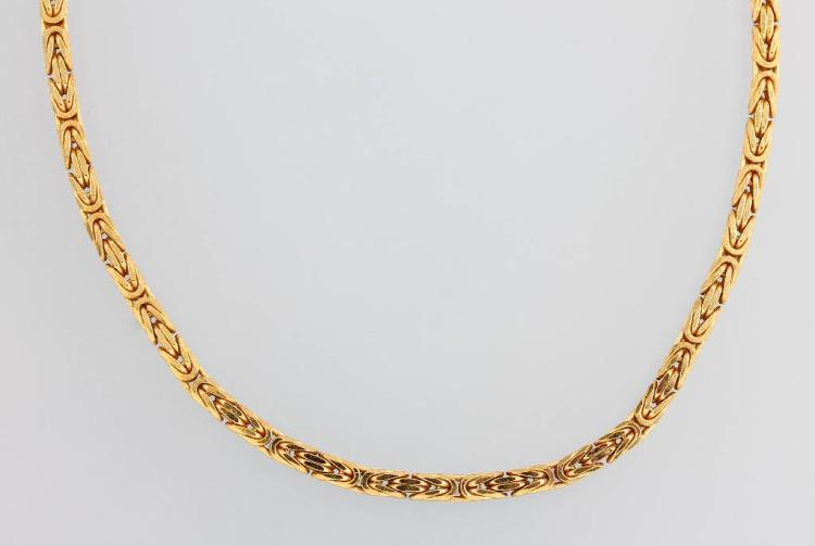 18 kt gold royal chain
