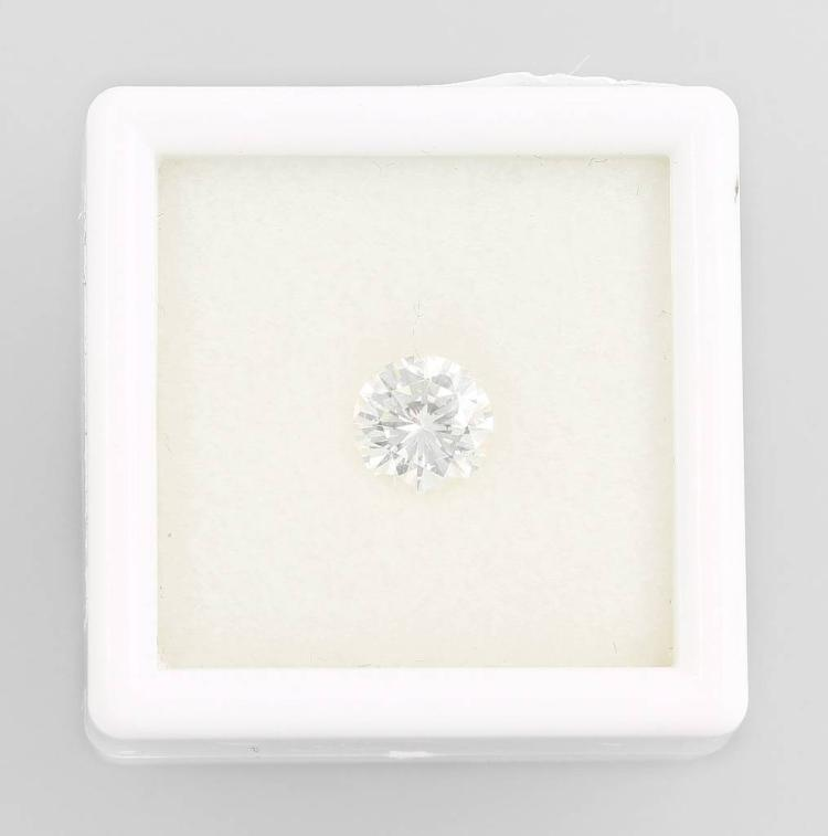 Loose brilliant 0.85 ct