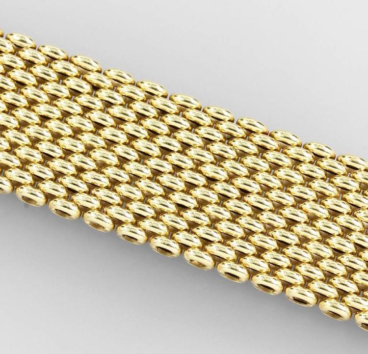 14 kt gold bracelet