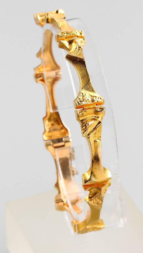 14 kt gold bracelet by LAPPONIA