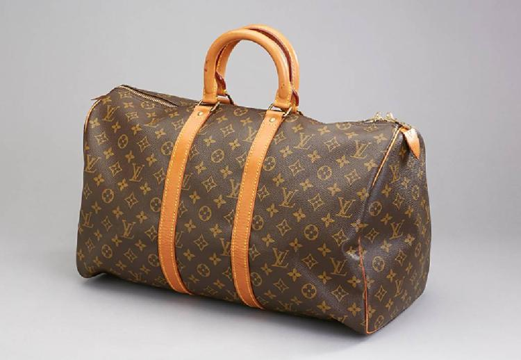 LOUIS VUITTON weekender, 'Keepall 45'