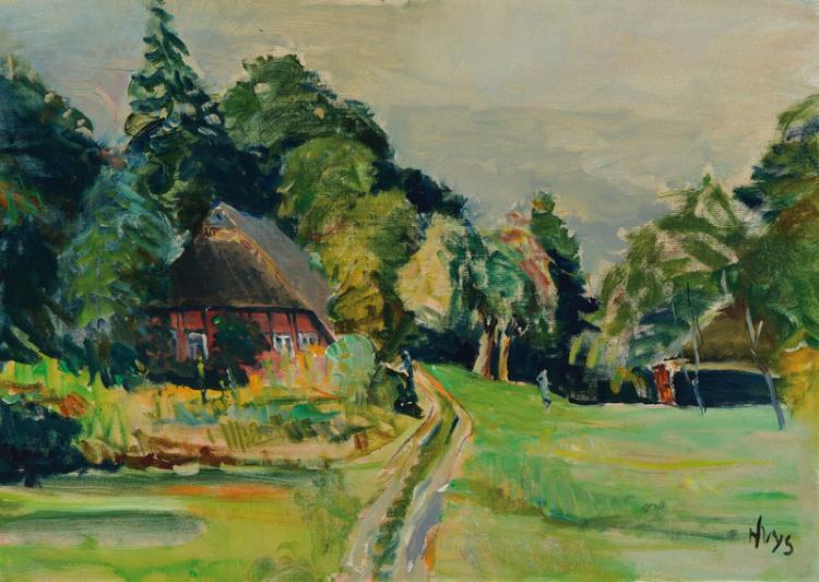 Bernhard Huys, 1896 Oesede-1973 Worpswede,