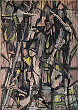 Selim Turan, 1915-1994, Turkish artist, born in Istanbul