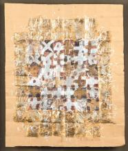 Silviu Oravitzan Cretzu, born 1941, abstract composition