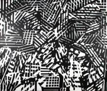 ValH, contemporary artist, untitled, abstract Pop-Art