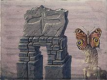 Otfried H. Culmann, born 1949, 'Dämmerung - die