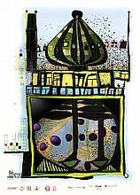 Friedensreich Hundertwasser, 1928-2000, Homo Humus Come