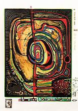 Friedensreich Hundertwasser, 1928-2000, 'Die fünfte