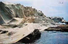 Christo, born 1935, Wrapped Coast, Little Bay Australia