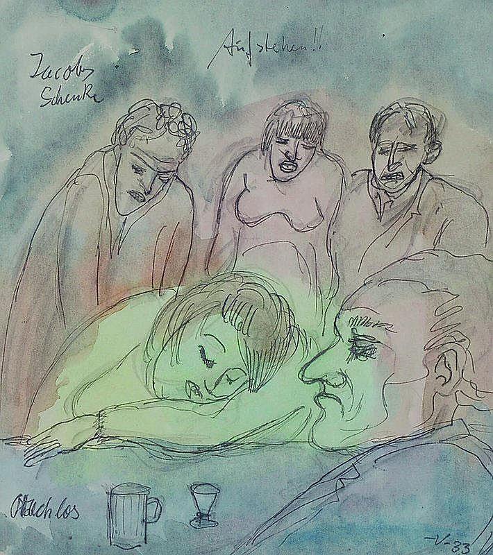 Voigt, Bruno, 1912-1988, Jacobs Schenk, Aufstehen,
