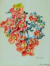 Franz Xaver Gruber, 1801 - 1862, Wild roses,