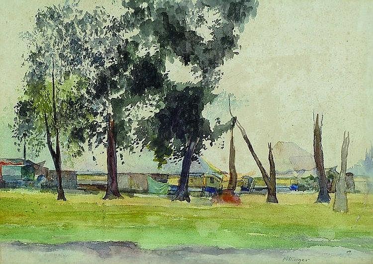 Carl Korbmann, 1894-1958, studied at the Hamburg