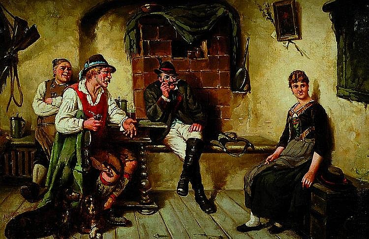 Müller-Lingke, Albert, geb. 1844 Altenburg, wirkte