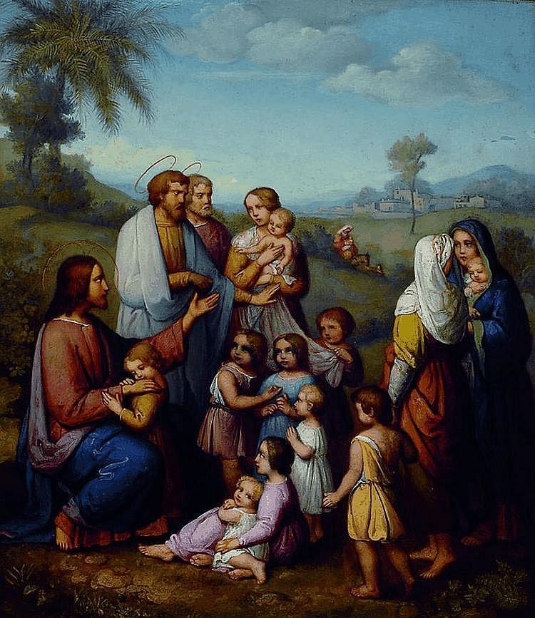 Ellenrieder, Maria, 1791-1863, Jesus von Kindern
