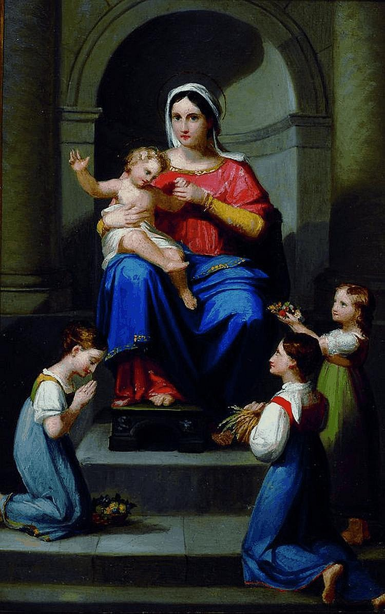 Ellenrieder, Maria, 1791-1863, Maria mit dem