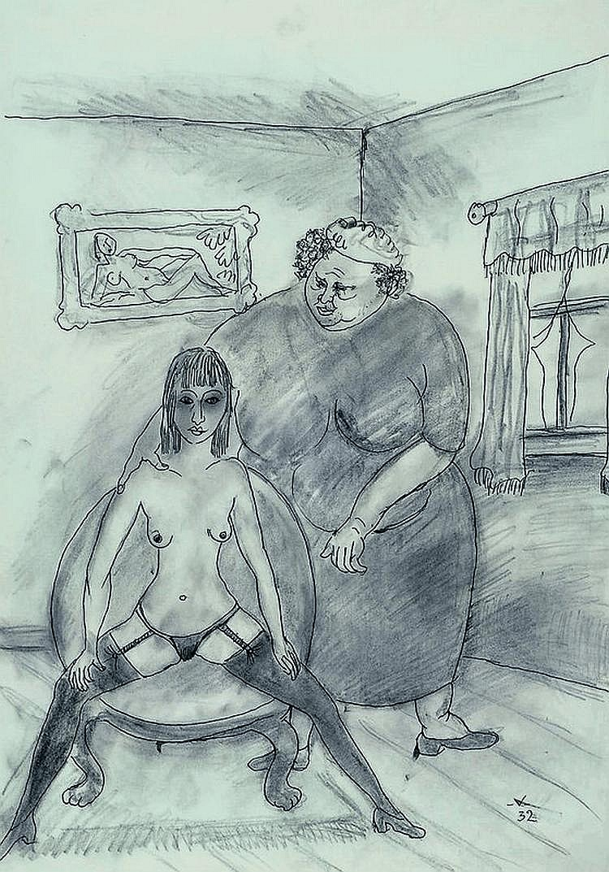 Voigt, Bruno, 1912-1988, im Freudenhaus,