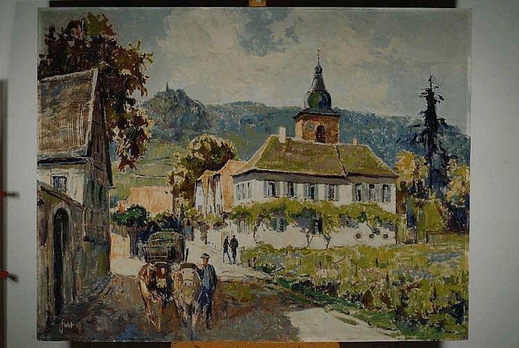Graf, Karl, 1902-1986 Speyer, Ansicht aus