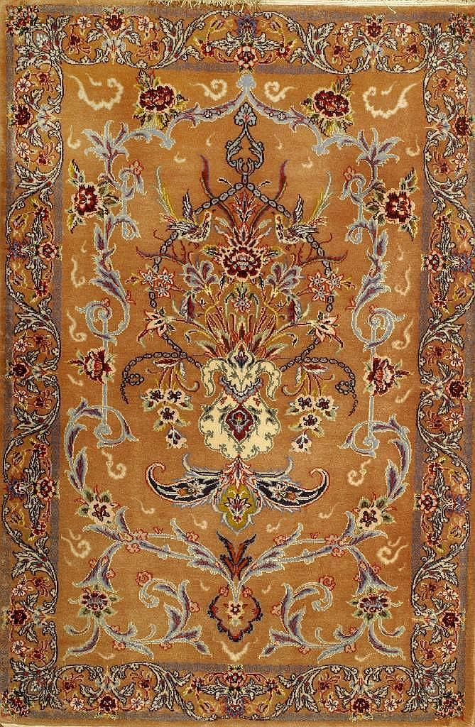 Esfahan fein, Persien, ca. 30 Jahre, Korkwolle mit