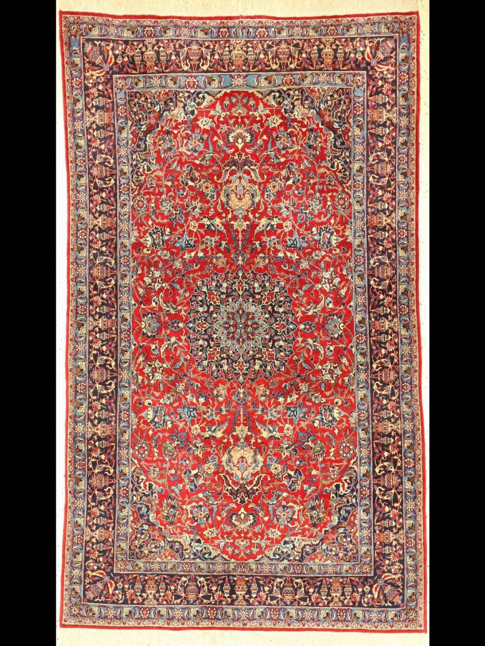Fine Nain Tudeschk, Central Persia, around 19 30, wool