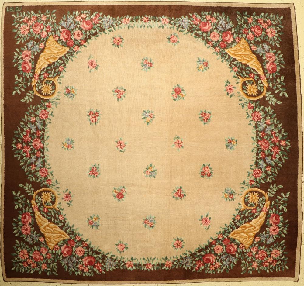 Art Deco carpet (LELEU) France, around 1940/1950
