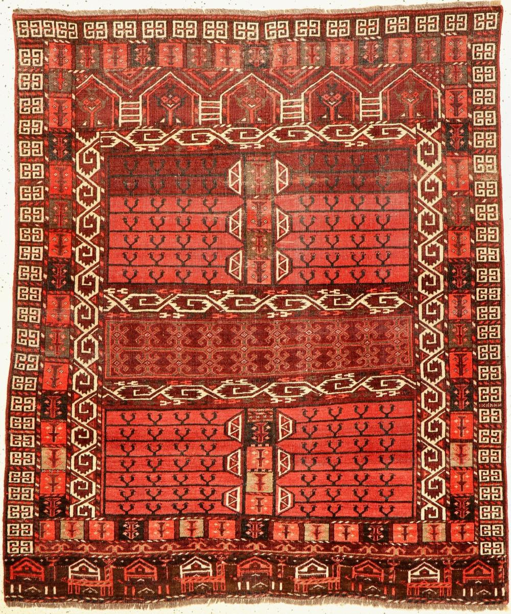 Antique Arabachi Engsi, Turkmenistan, 19th century