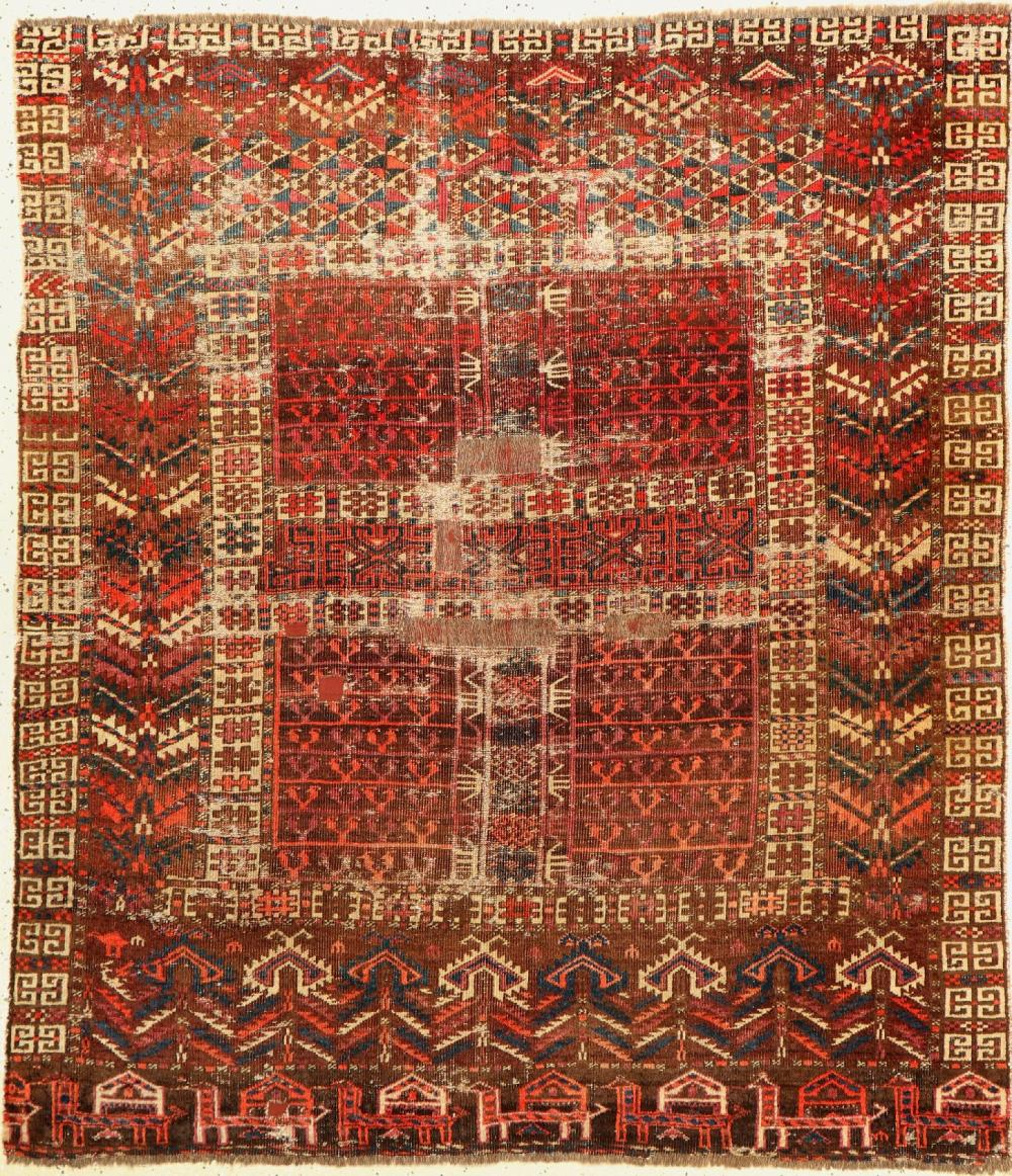 Antique Arabatschi Engsi, Turkmenistan, 19th century