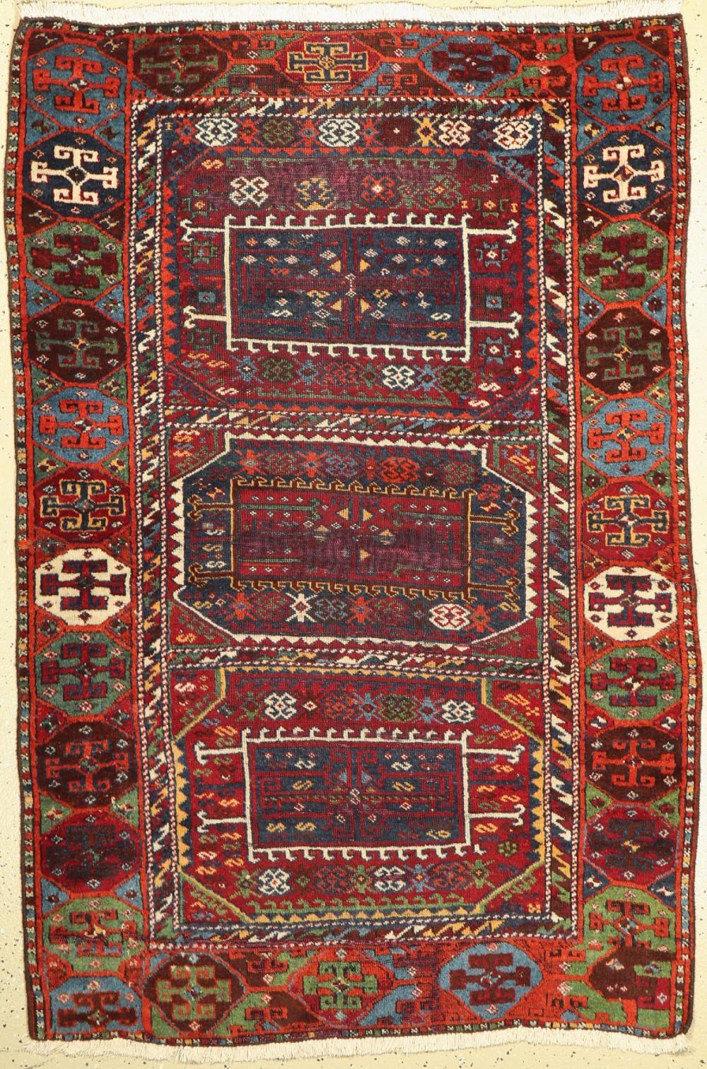 Kurdish village carpet, Turkey, end of the 19th