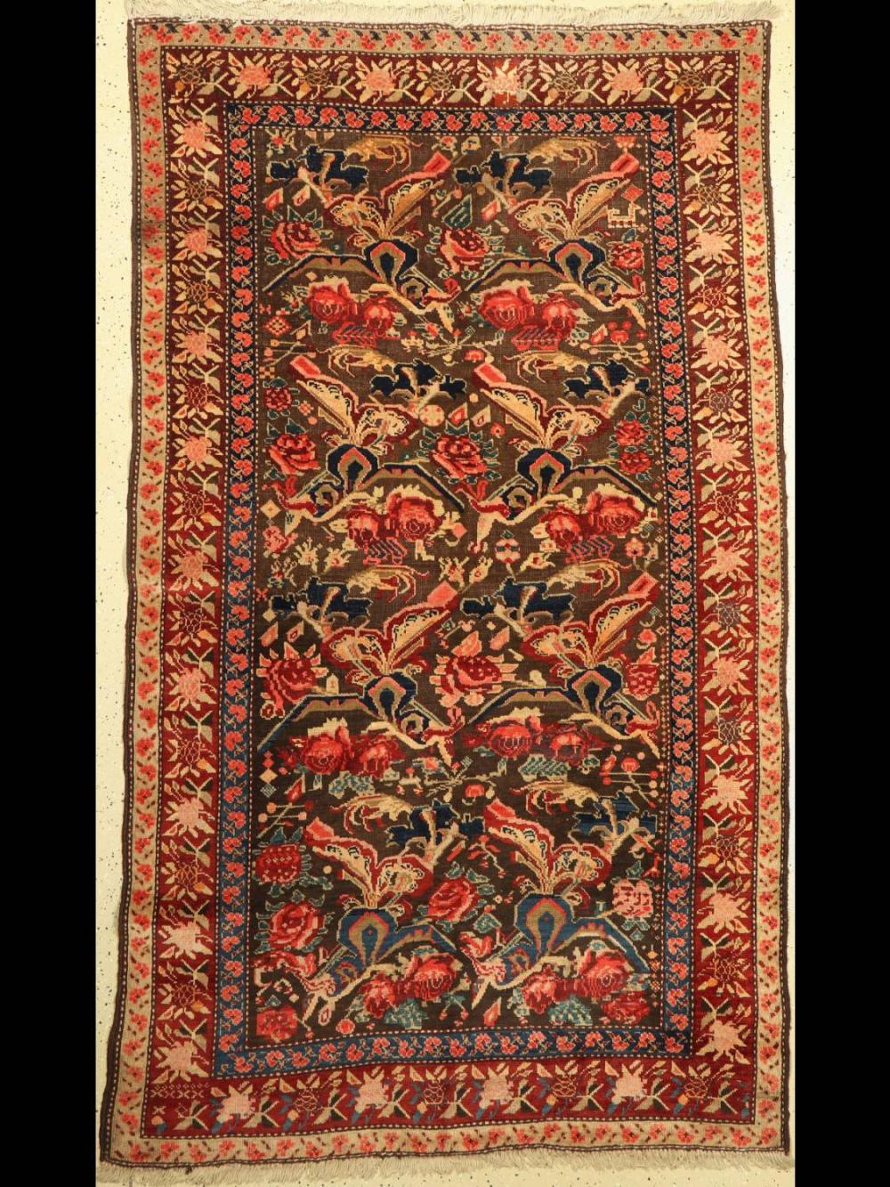 Antique Karabagh, Caucasus, around 1900, wool knotted on